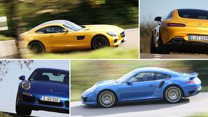 Mercedes-AMG GT vs Porsche 911 Turbo