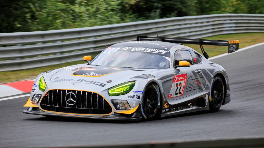 Mercedes-AMG GT3 - 10Q Racing Team Hauer & Zabel GbR - Startnummer 22 - Klasse: SP9 - 24h-Rennen - Nürburgring - Nordschleife - 24. bis 27. September 2020