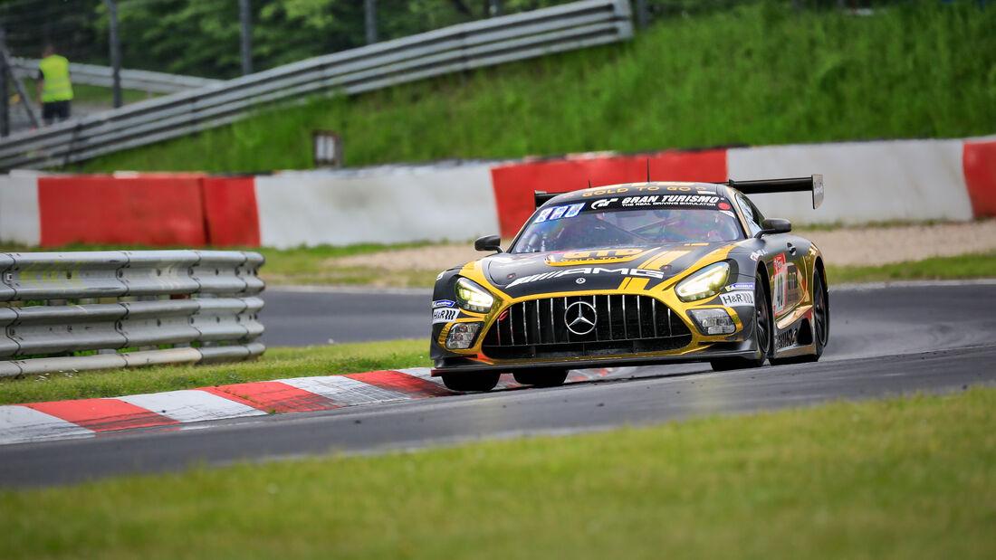 Mercedes-AMG GT3 - 10Q Racing Team Hauer & Zabel GbR - Startnummer #40 - Klasse: SP 9 (FIA-GT3) - 24h-Rennen - Nürburgring - Nordschleife - 03. - 06. Juni 2021
