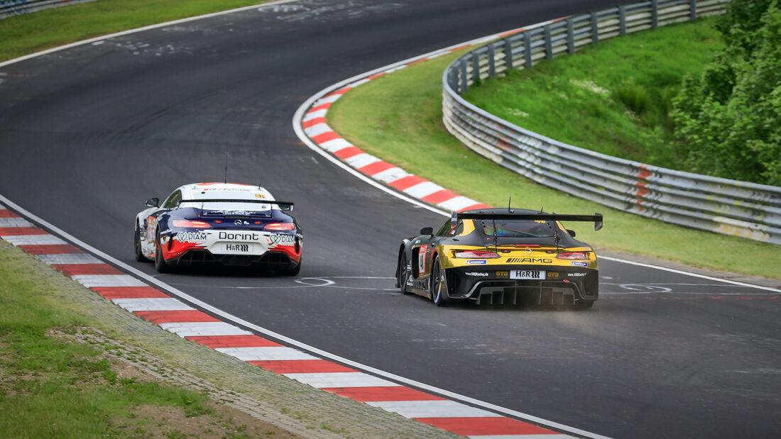 Mercedes-AMG GT3 - 10Q Racing Team - Startnummer 40 - 24h Rennen Nürburgring - Nürburgring-Nordschleife - 4. Juni 2021