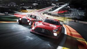 Mercedes AMG GT3 - 24h Spa-Francorchamps 2021