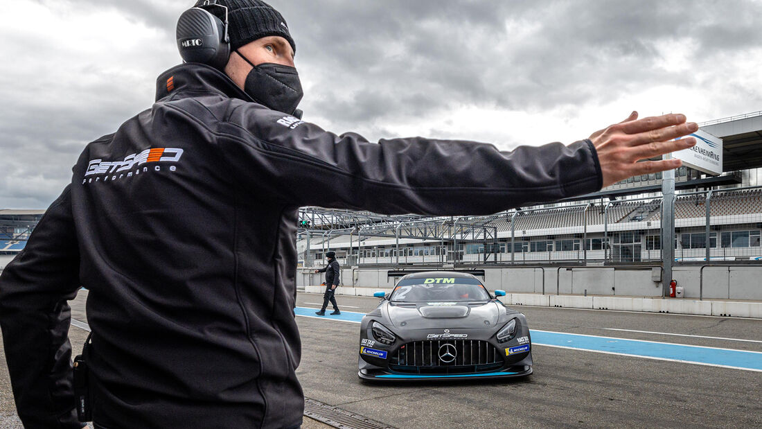 Mercedes-AMG GT3 - Arjun Maini - DTM-Test - Hockenheim 2021