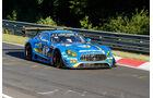 Mercedes AMG GT3 - Black Falcon - Startnummer #3 - Top-30-Qualifying - 24h-Rennen Nürburgring 2017 - Nordschleife