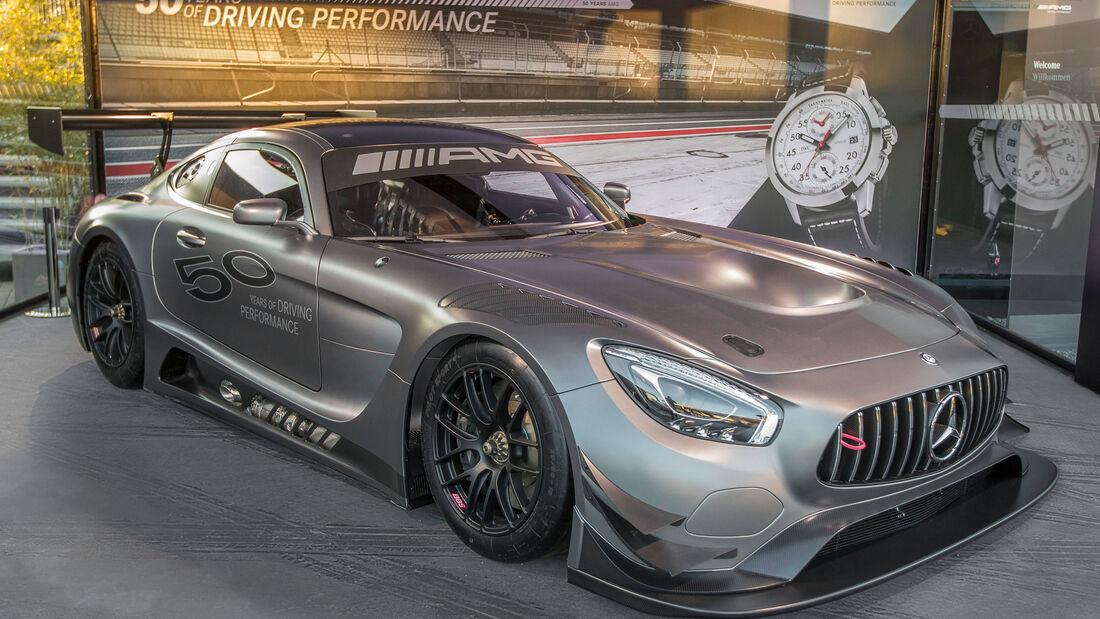 Mercedes AMG GT3 Edition 50 - Rennwagen - Sondermodell - Motorsport - V8 Saugmotor