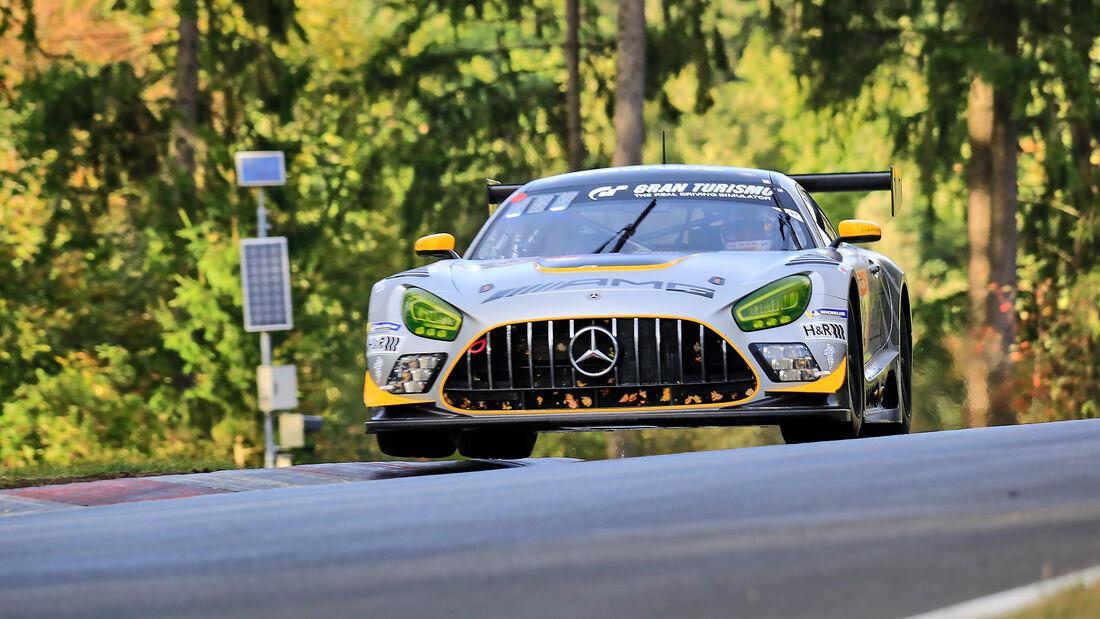 Mercedes-AMG GT3 Evo - 10Q Racing Team Hauer & Zabel GbR - Startnummer 22 - 24h Rennen Nürburgring - Nürburgring-Nordschleife - 25. September 2020