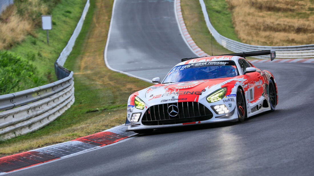 Mercedes-AMG GT3 Evo - GetSpeed Performance - Startnummer 10 - 24h Rennen Nürburgring - Nürburgring-Nordschleife - 25. September 2020