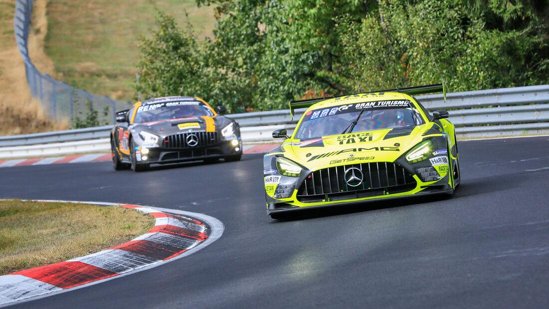 Mercedes-AMG GT3 Evo - Mercedes-AMG Team GetSpeed - Startnummer 9 - 24h Rennen Nürburgring - Nürburgring-Nordschleife - 25. September 2020