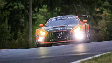 Mercedes-AMG GT3 Evo - Mercedes-AMG Team HRT - Startnummer 4 - 24h Rennen Nürburgring - Nürburgring-Nordschleife - 25. September 2020