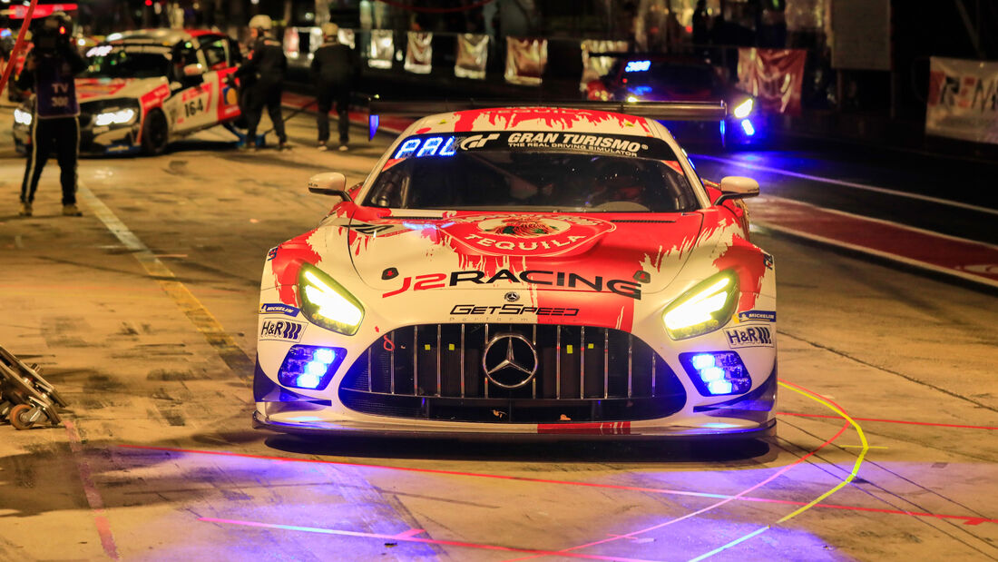 Mercedes.AMG GT3 - GetSpeed Performance - Startnummer #10 - 24h-Rennen - Nürburgring - Nordschleife - Donnerstag - 24. September 2020