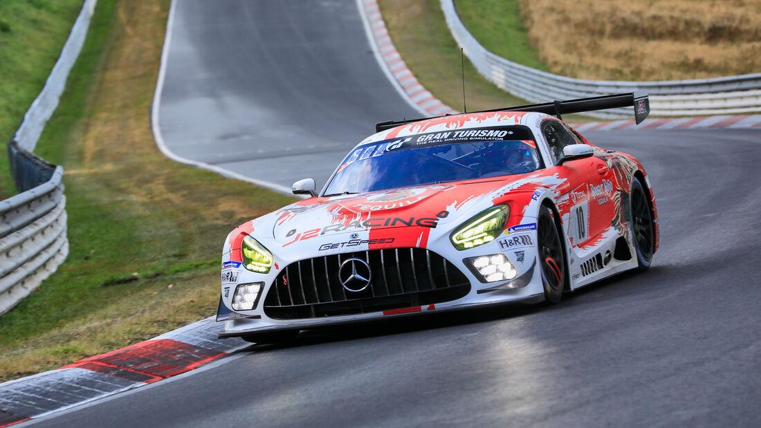 Mercedes-AMG GT3 - GetSpeed Performance - Startnummer #10 - Klasse: SP9 Pro-Am - 24h-Rennen - Nürburgring - Nordschleife - 24. bis 27. September 2020