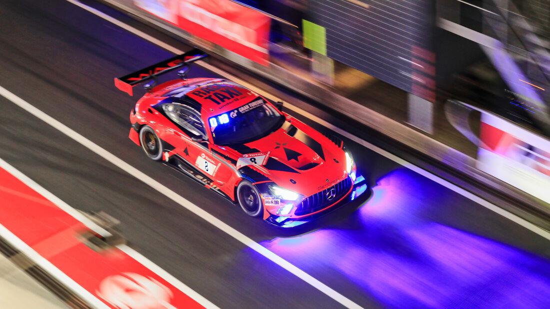 Mercedes-AMG GT3 - GetSpeed Performance - Startnummer #8 - 24h-Rennen - Nürburgring - Nordschleife - Donnerstag - 24. September 2020