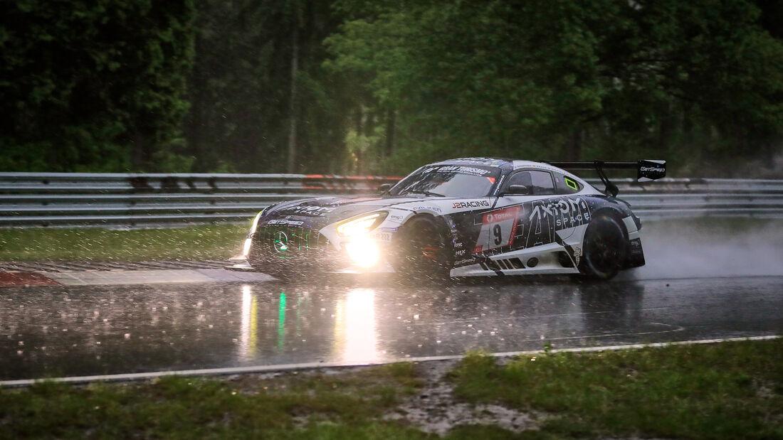 Mercedes-AMG GT3 - GetSpeed - Startnummer #9 - 24h-Rennen Nürburgring - Nürburgring-Nordschleife - 4. Juni 2021