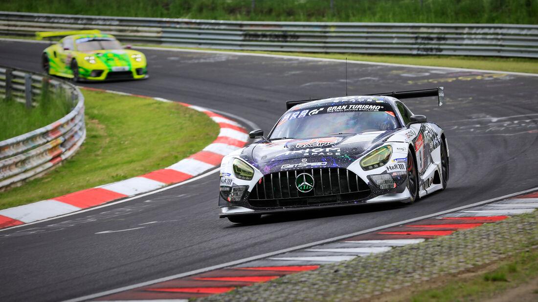 Mercedes-AMG GT3 - GetSpeed - Startnummer #9 - Klasse: SP 9 (FIA-GT3) PRO-AM - 24h-Rennen - Nürburgring - Nordschleife - 03. - 06. Juni 2021
