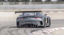 Mercedes AMG GT3, Heckansicht