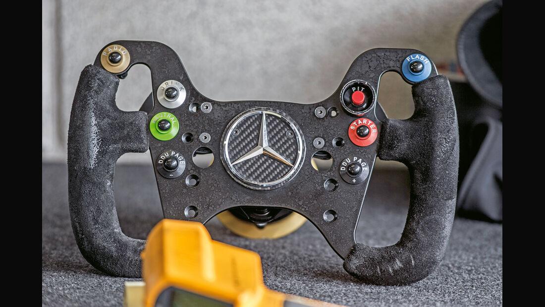 Mercedes AMG GT3, Lenkrad
