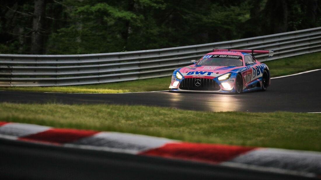 Mercedes-AMG GT3 - Mercedes-AMG Team GetSpeed - Startnummer #7 - 24h-Rennen Nürburgring - Nürburgring-Nordschleife - 5. Juni 2021