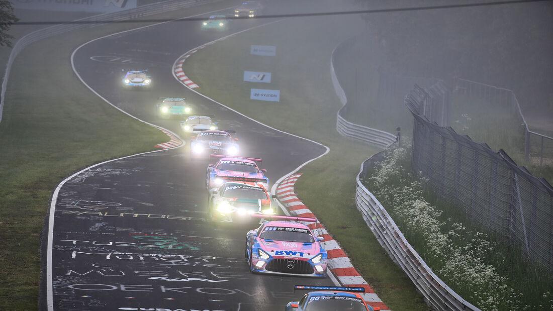 Mercedes-AMG GT3 - Mercedes-AMG Team GetSpeed - Startnummer #7 - 24h-Rennen Nürburgring - Nürburgring-Nordschleife - 6. Juni 2021