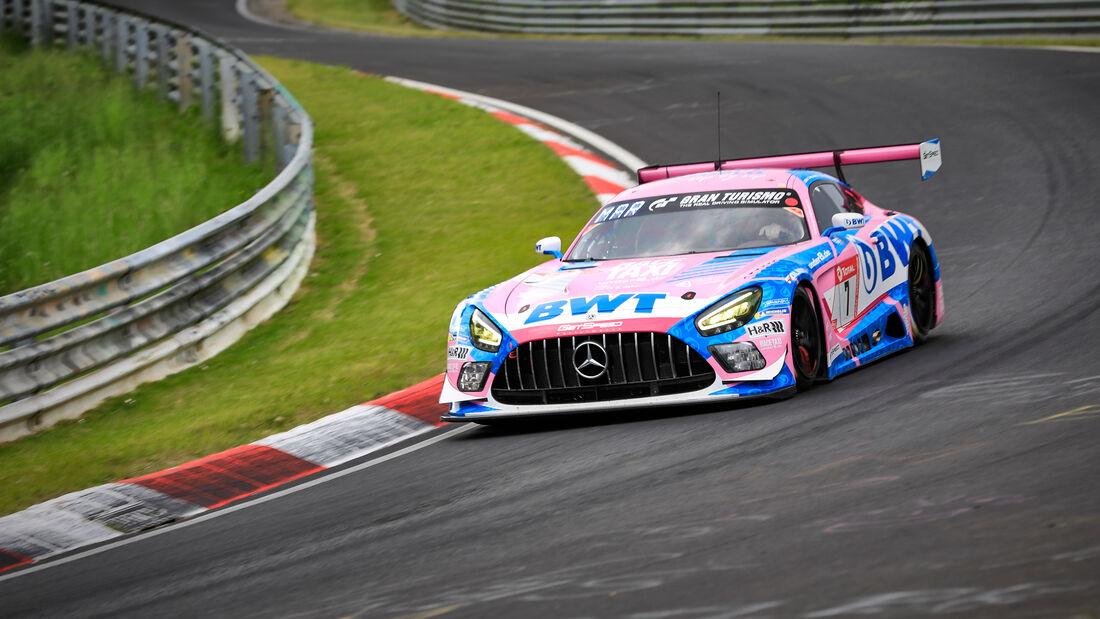 Mercedes-AMG GT3 - Mercedes-AMG Team GetSpeed - Startnummer #7 - Klasse: SP 9 (FIA-GT3) - 24h-Rennen - Nürburgring - Nordschleife - 03. - 06. Juni 2021