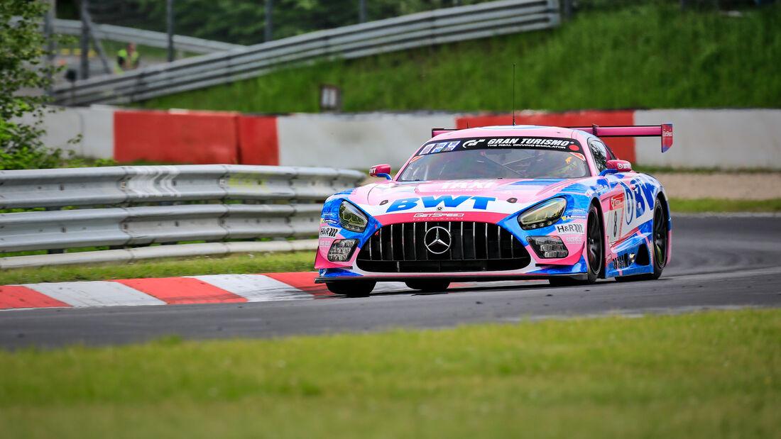 Mercedes-AMG GT3 - Mercedes-AMG Team GetSpeed - Startnummer #8 - Klasse: SP 9 (FIA-GT3) - 24h-Rennen - Nürburgring - Nordschleife - 03. - 06. Juni