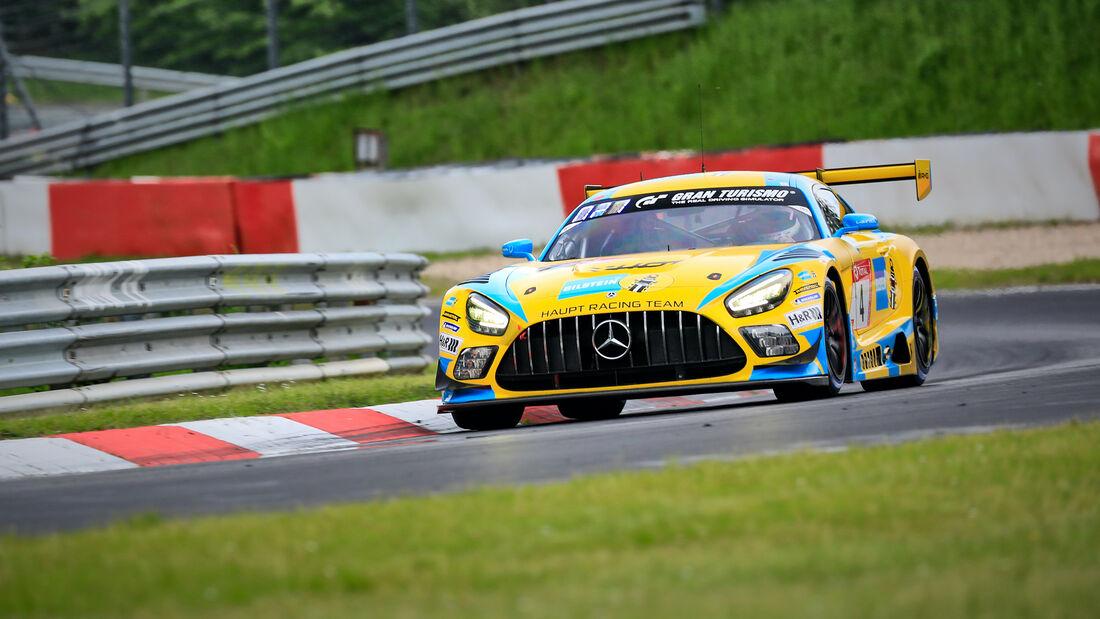 Mercedes-AMG GT3 - Mercedes-AMG Team HRT - Startnummer 4 - 24h Rennen Nürburgring - Nürburgring-Nordschleife - 4. Juni 2021