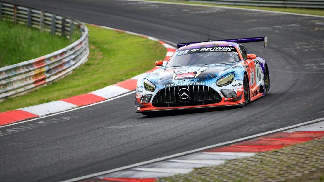 Mercedes-AMG GT3 - Mercedes-AMG Team HRT - Startnummer 6 -  24h Rennen Nürburgring - Nürburgring-Nordschleife - 4. Juni 2021