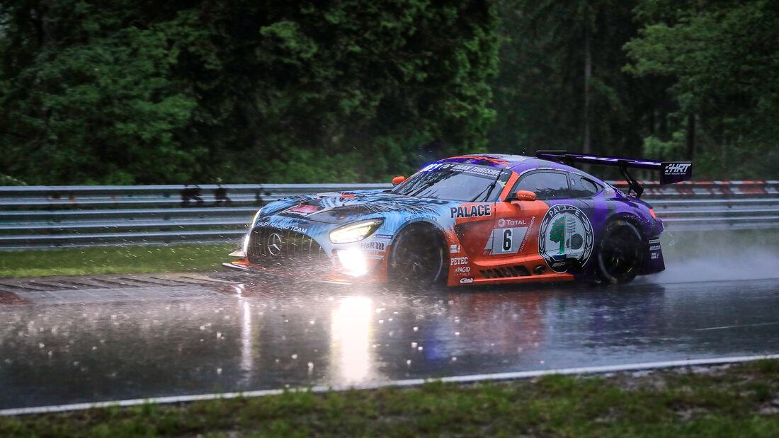 Mercedes-AMG GT3 - Mercedes-AMG Team HRT - Startnummer #6 - 24h-Rennen Nürburgring - Nürburgring-Nordschleife - 4. Juni 2021