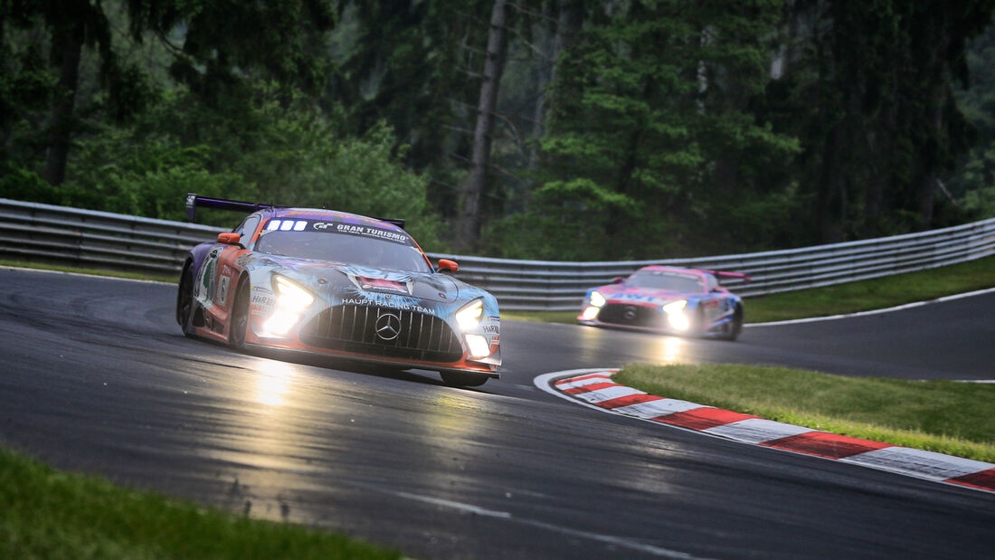 Mercedes-AMG GT3 - Mercedes-AMG Team HRT - Startnummer #6 - 24h-Rennen Nürburgring - Nürburgring-Nordschleife - 5. Juni 2021
