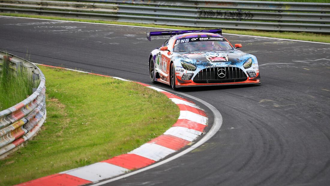 Mercedes-AMG GT3 - Mercedes-AMG Team HRT - Startnummer #6 - Klasse: SP 9 (FIA-GT3) - 24h-Rennen - Nürburgring - Nordschleife - 03. - 06. Juni 2021