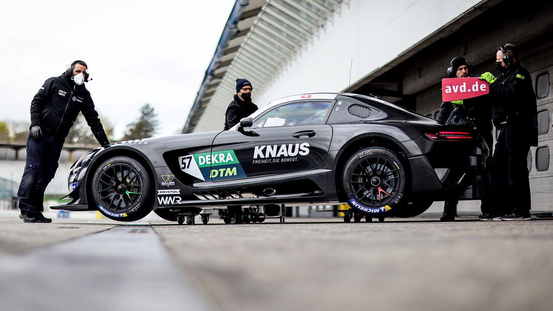 Mercedes-AMG GT3 - Philip Ellis - DTM-Test - Hockenheim 2021