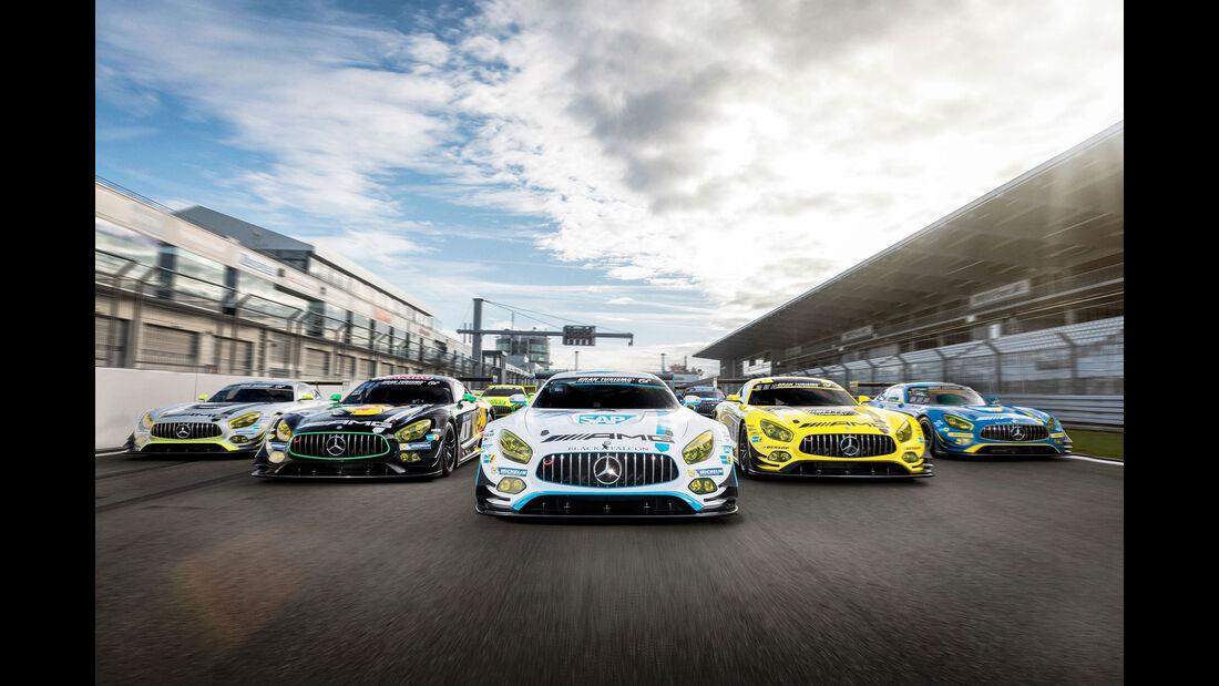 Mercedes AMG GT3 - Rennwagen - Motorsport
