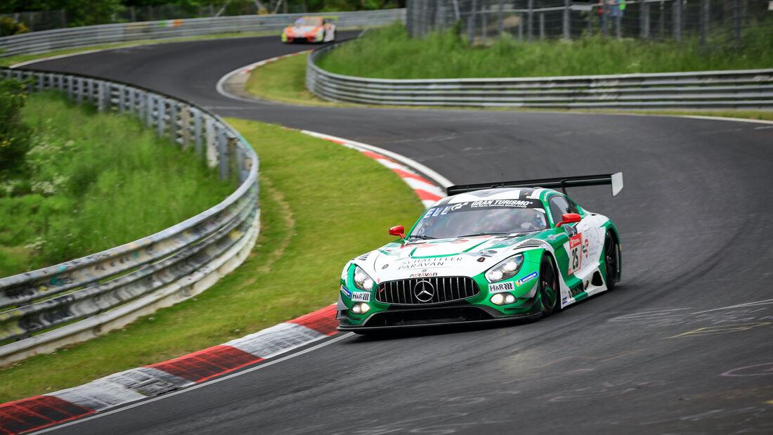 Mercedes-AMG GT3 - Space Drive Racing - Startnummer 25 - 24h Rennen Nürburgring - Nürburgring-Nordschleife - 4. Juni 2021