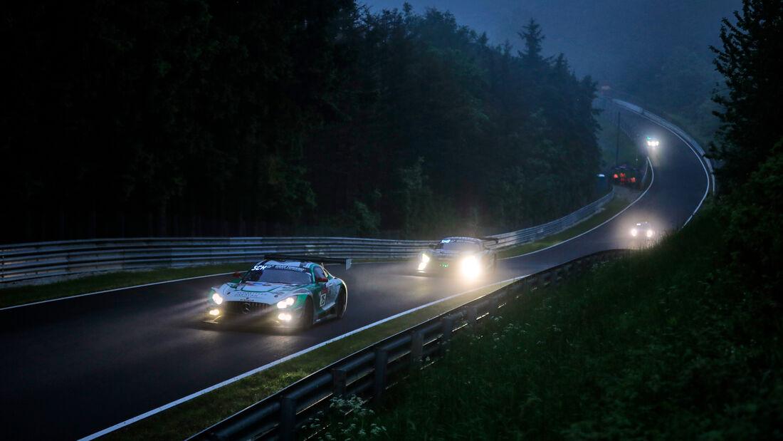 Mercedes-AMG GT3 - Space Drive Racing - Startnummer #25 - 24h-Rennen Nürburgring - Nürburgring-Nordschleife - 5. Juni 2021