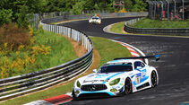 Mercedes AMG GT3 - Startnummer #1 - 2. Qualifying - 24h-Rennen Nürburgring 2017 - Nordschleife