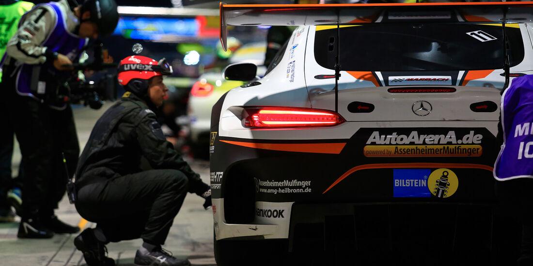 Mercedes-AMG GT3 - Startnummer #11 - 24h-Rennen Nürburgring 2018 - Nordschleife - 13.5.2018