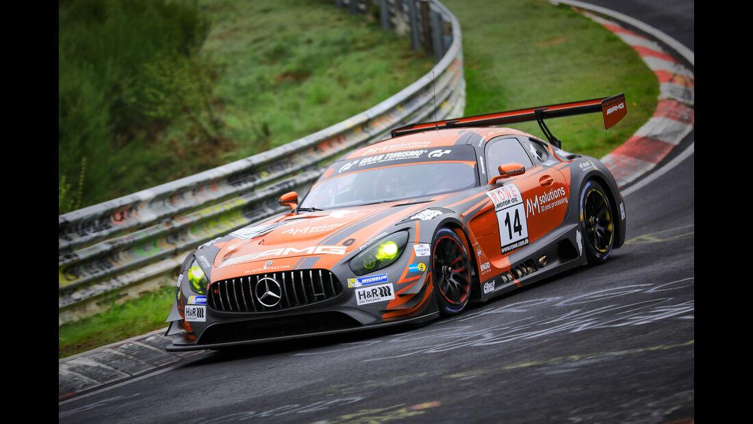 Mercedes-AMG GT3 - Startnummer #14 - Mercedes-AMG Team Black Falcon - SP9 Pro - VLN 2019 - Langstreckenmeisterschaft - Nürburgring - Nordschleife