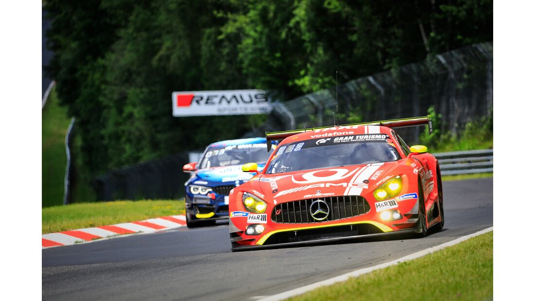 Mercedes AMG GT3 - Startnummer #16 - 24h Rennen Nürburgring - 21. Juni 2019