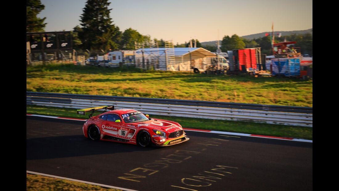 Mercedes AMG GT3 -  Startnummer #16 - 24h Rennen Nürburgring - Nürburgring-Nordschleife - 23. Juni 2019