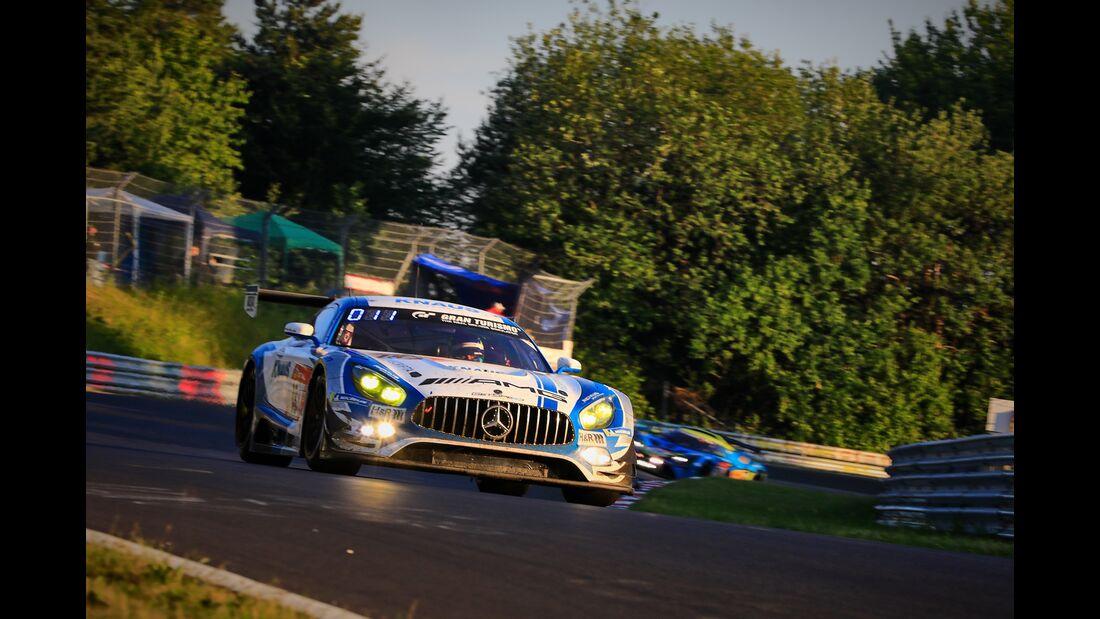 Mercedes AMG GT3 -  Startnummer #18  - 24h Rennen Nürburgring - Nürburgring-Nordschleife - 23. Juni 2019