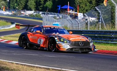 Mercedes AMG GT3 - Startnummer #2 - 24h Rennen Nürburgring - 21. Juni 2019