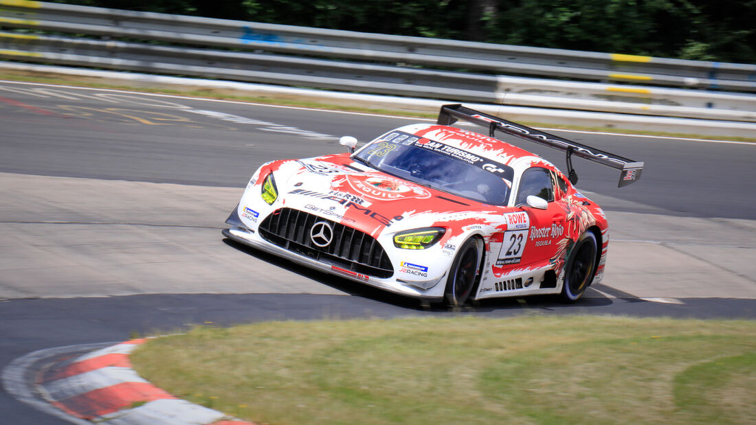 Mercedes-AMG GT3 - Startnummer #23 - GetSpeed Performance - SP9 Am - NLS 2020 - Langstreckenmeisterschaft - Nürburgring - Nordschleife