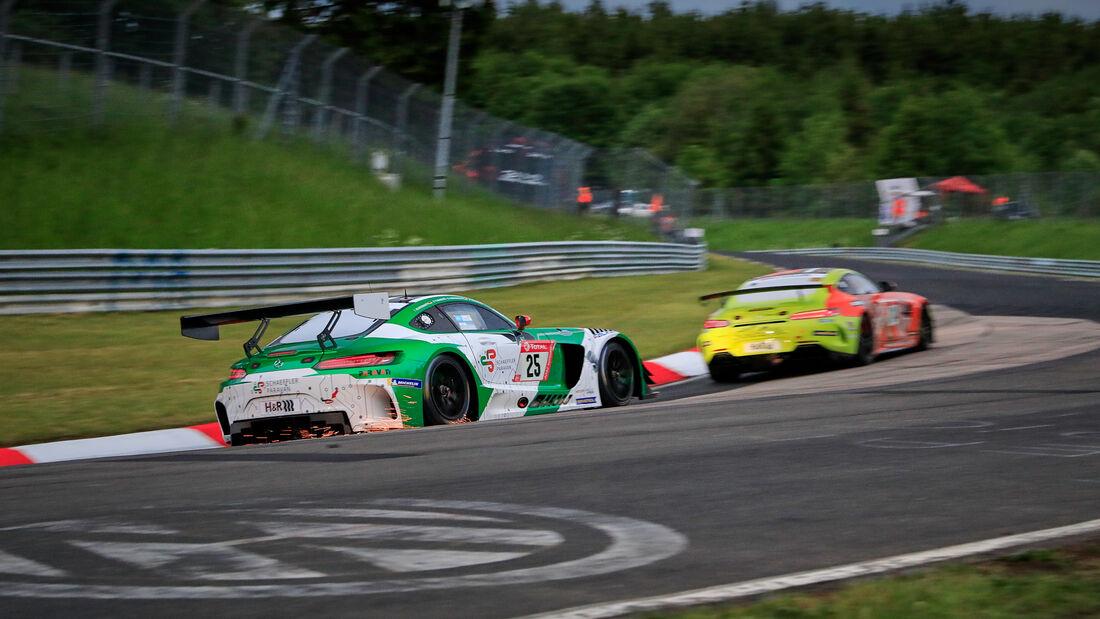 Mercedes-AMG GT3 - Startnummer 25 - 24h Rennen Nürburgring - Nürburgring-Nordschleife - 3. Juni 2021