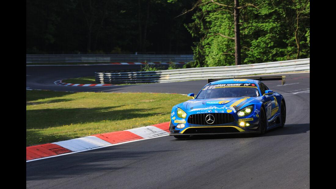 Mercedes AMG GT3 - Startnummer #3 - 24h-Rennen Nürburgring 2017 - Nordschleife - Sonntag - 28.5.2017