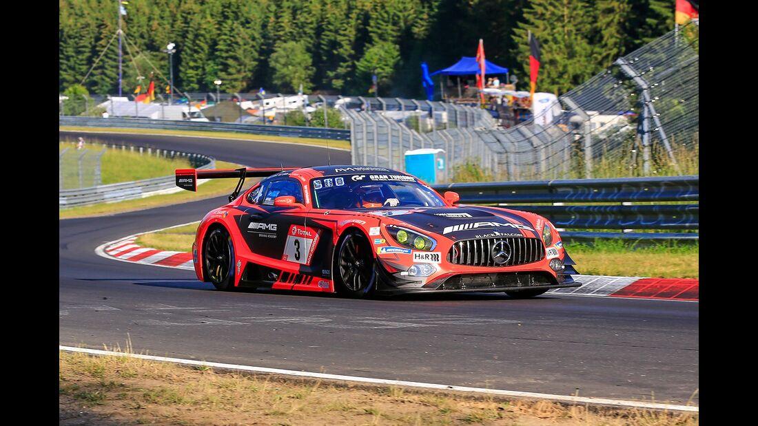 Mercedes AMG GT3 - Startnummer #3 - 24h Rennen Nürburgring - 21. Juni 2019