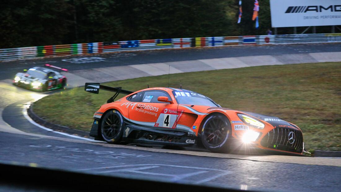 Mercedes-AMG GT3 - Startnummer 4 - 24h Rennen Nürburgring - Nürburgring-Nordschleife - 26. September 2020