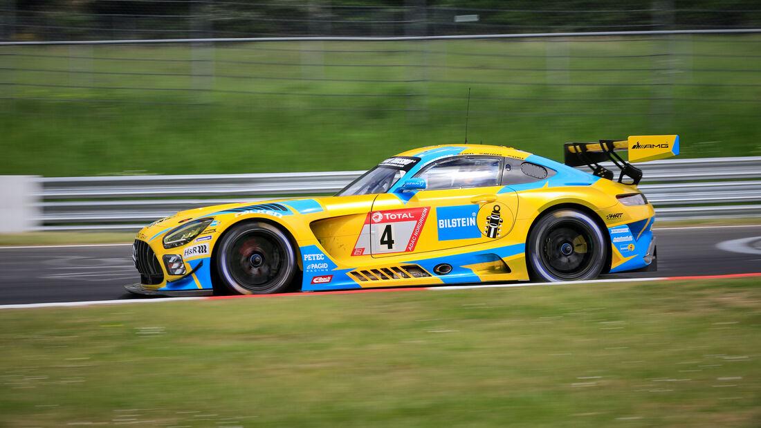 Mercedes-AMG GT3  -  Startnummer 4 - 24h Rennen Nürburgring - Nürburgring-Nordschleife - 3. Juni 2021