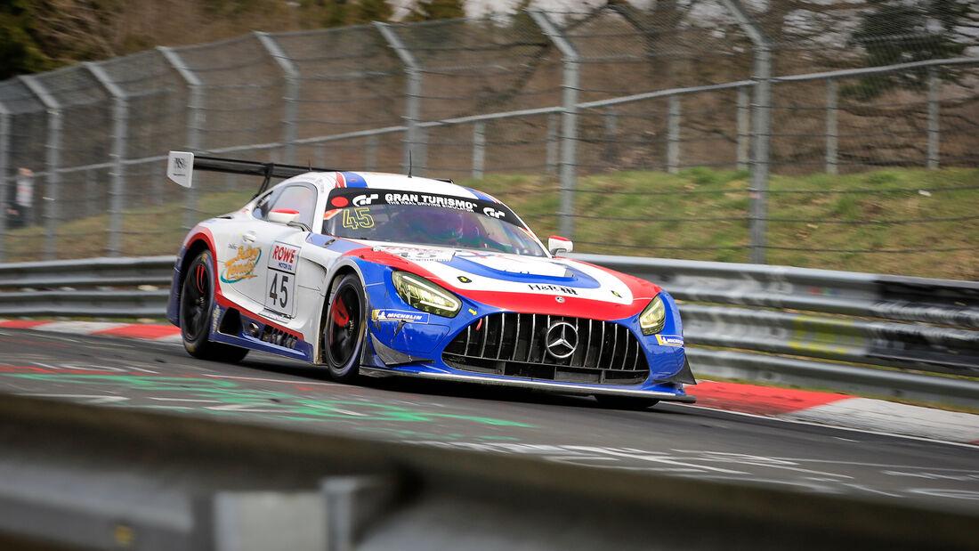 Mercedes-AMG GT3 - Startnummer #45 - B CP Racing - SP9 Pro-Am - NLS 2021 - Langstreckenmeisterschaft - Nürburgring - Nordschleife