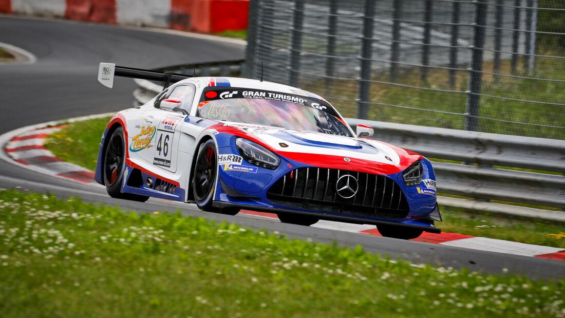 Mercedes-AMG GT3 - Startnummer #46 - CP Racing - SP9 Pro-Am - NLS 2021 - Langstreckenmeisterschaft - Nürburgring - Nordschleife