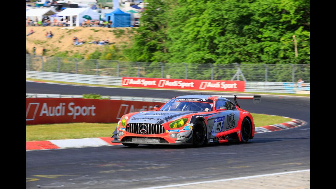 Mercedes-AMG GT3 - Startnummer #47 - 24h-Rennen Nürburgring 2018 - Nordschleife - Samstag 12.5.2018