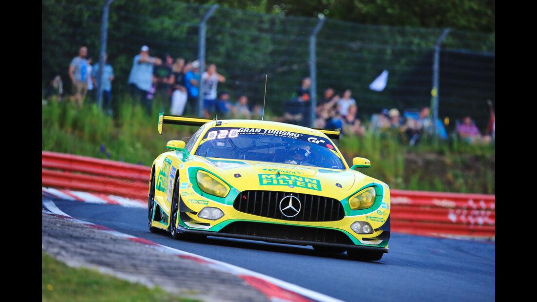 Mercedes AMG GT3 - Startnummer #48 - 24h-Rennen Nürburgring 2017 - Nordschleife - Samstag - 27.5.2017