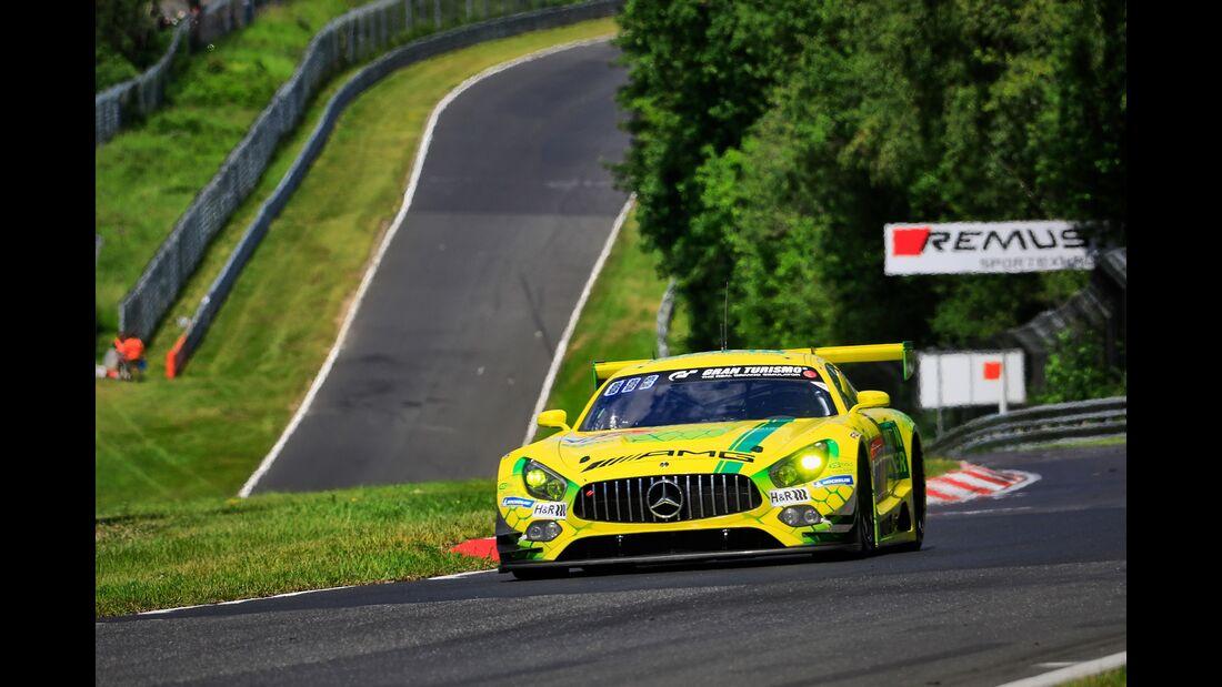 Mercedes AMG GT3 - Startnummer #48 - 24h Rennen Nürburgring - 21. Juni 2019